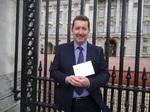 Michael Mahoney at Buckingham Palace